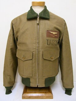 Buzz Rickson's [due] 37-J-1 flight jacket 30's MODEL BR12477 (OLIVE)