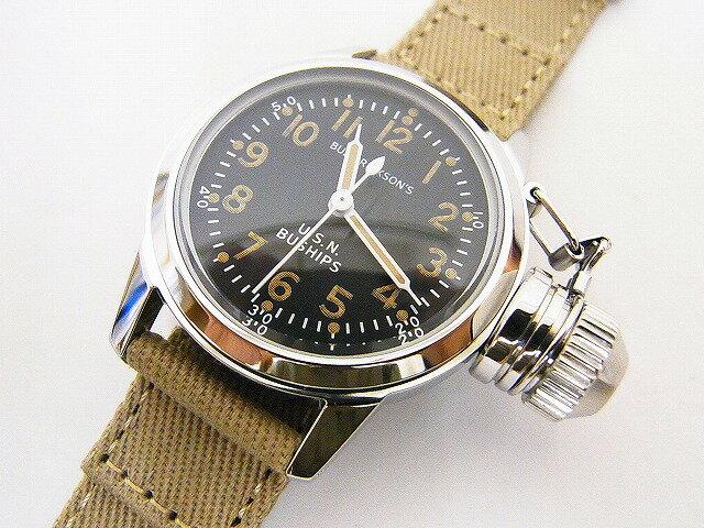 Buzz Rickson's[バズリクソンズ] ミリタリーウォッチ 腕時計 BR02529 WATCH, WRIST BUSHIP U.S.N. リストウォッチ 【RCP】