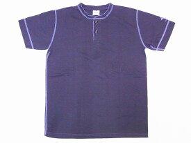 Two Moon[トゥームーン] Tシャツ ヘンリーネックTシャツ 24223 ヘンリーTee (スミクロ) 【RCP】