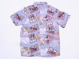 Pherrow's[フェローズ] アロハシャツ KIKO ハワイアンシャツ 14S-KIKO (グレー) 送料無料 代引き手数料無料
