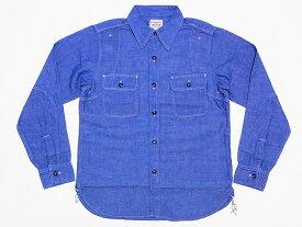 Pherrow's[フェローズ] シャンブレーシャツ 770WS シャンブレー ワークシャツ (サックス) 送料無料 代引き手数料無料 【RCP】