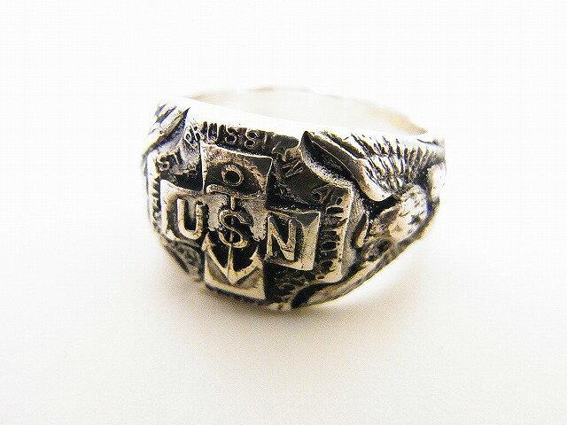 Pherrow's[フェローズ] リング U.S.N. RING 指輪 USN RING2 (スターリングシルバー) 送料無料 代引き手数料無料 【RCP】