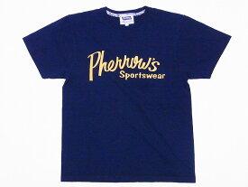 Pherrow's[フェローズ] Tシャツ 19S-PT1 Pherrow's Sportswear (ネイビー)