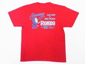 Pherrow's[フェローズ] Tシャツ 18S-PT3 ROMEO TIRE Co. (S.レッド)