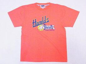 Pherrow's[フェローズ] Tシャツ 18S-PT16 Harold's Biscuits (サーモン)