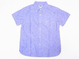 Pherrow's[フェローズ] ボタンダウンシャツ 半袖BDシャツ PBDS1 オックスフォード (ネイビー) 送料無料 代引き手数料無料 【RCP】