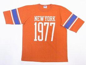 Pherrow's[フェローズ] Tシャツ 19S-PFBT1 フットボールTシャツ (オレンジ)