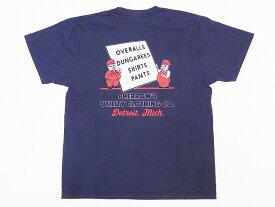 Pherrow's[フェローズ] Tシャツ 19S-PT6 PHERROW'S UTILITY CLOTHING CO. (チャコール)
