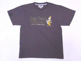 Pherrow's[フェローズ] Tシャツ 19S-PT20 Long Beach MARATHON (ウォームグレー)