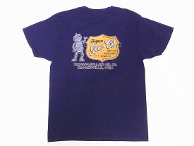 Pherrow's[フェローズ] Tシャツ 20S-PT4 Super Gear Oil (ナス)