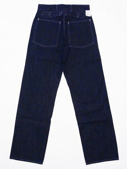 Buzz Rickson's [due] work pants denim TROUSERS WORKING DENIM BR41106A (ONE-WASH/NAVY) cash on delivery fees