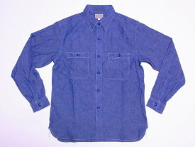 Buzz Rickson's[バズリクソンズ] シャンブレーシャツ BR25995 長袖 BLUE CHAMBRAY WORK SHIRT BR25995 (ブルー) 【RCP】