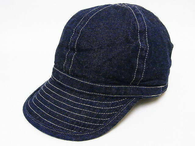 Buzz Rickson's[バズリクソンズ] アーミーデニムキャップ BR02308 ARMY DENIM CAP SOLID (NAVY) 【RCP】