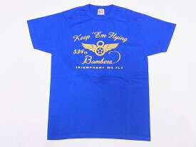 Buzz Rickson's[バズリクソンズ] Tシャツ BR78448 534th BOMB. SQ. 8th AIR FORCE (ロイヤル)
