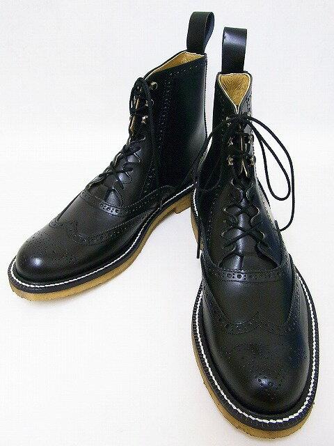 Dry Bones[ドライボーンズ] ブーツ Gillie Half Boots ギリーブーツ DSHC-008 (BLACK) 送料無料【smtb-kd】