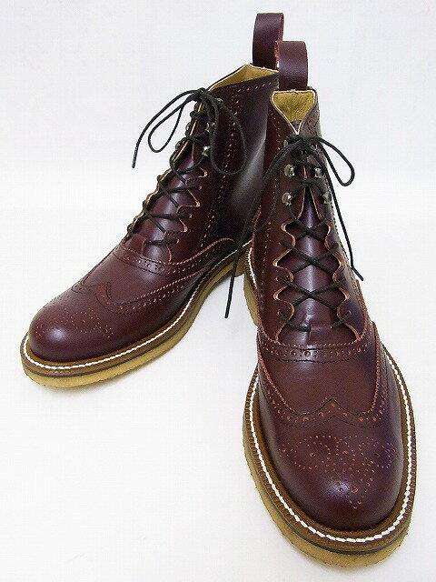 Dry Bones[ドライボーンズ] ブーツ Gillie Half Boots ギリーブーツ DSHC-008 (WINE) 送料無料【smtb-kd】