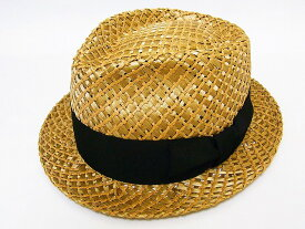 Dry Bones[ドライボーンズ] ストロー ギャンブラー ハット DCH-437 麦わら帽子 Twisted Straw Gambler Hat (COCONUT) 送料無料 代引き手数料無料 【RCP】