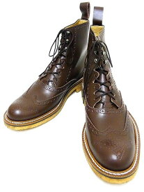 Dry Bones[ドライボーンズ] ブーツ Gillie Half Boots ギリーブーツ DSHC-008 (BROWN) 送料無料 代引き手数料無料 【RCP】