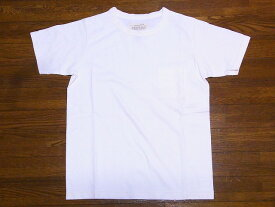 FULLCOUNT[フルカウント] Tシャツ ベーシック ポケットT 無地 5805P BASIC POCKET TEE (ホワイト) 【RCP】