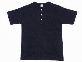 WAREHOUSE[ウエアハウス] Tシャツ ヘンリーネックTシャツ 無地 HENRY NECK TEE 4601 (スミクロ)