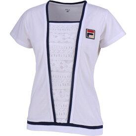 フィラ FILA テニスウェア レディース ゲームシャツ VL1926 2019SS
