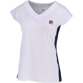 フィラ FILA テニスウェア レディース ノースリーブゲームシャツ VL1945 2019SS ホワイト(01)