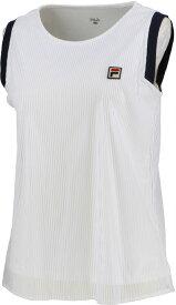 2020SS 2020新製品 フィラ FILA テニスウェア レディース ノースリーブシャツ VL2127-01