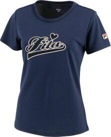 2020FW 2020新製品 フィラ FILA テニスウェア レディース アップリケTシャツ VL2219-20