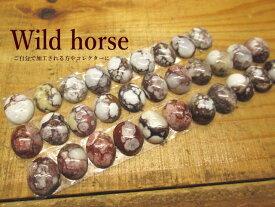 天然石【Wild horse(ワイルドホース)】ルース(楕円)【メール便OK】オーバル/茶色/石/彫金/アクセサリー/材料/ネックレス