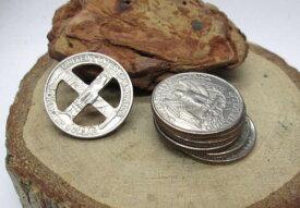 25セント コインクロスホイール【メール便OK】25セント硬貨使用のホイール/パーツ/アクセサリー/男女兼用/ゴローズではありません