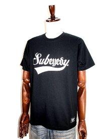 eyedy&subciety EYEDY&SUBCIETY アイディー& サブサエティコラボメンズtシャツ 半袖tシャツ ブラック