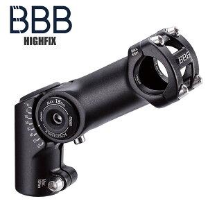 BBB ビービービー ステム ハイフィックス アジャスタブルステム BHS-34 25.4 ブラック ロードバイク 自転車 サイクルパーツ 自転車パーツ