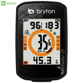 bryton ブライトン GPS サイクルコンピューター サイコン Rider15 ケイデンスセンサーキット スマートケイデンスセンサー同梱 ロードバイク MTB 自転車