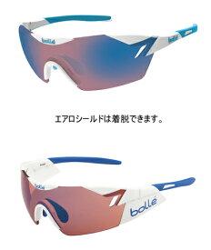 【ボレー/bolle】 【スポーツサングラス】 bolle 11843 6th Sense shiny white blue rose blue oleo (4580279031692)