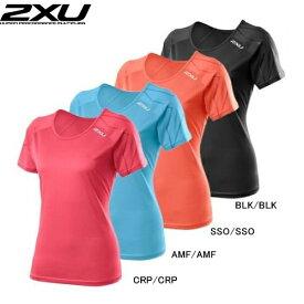 2XU ツータイムズユー レディース ランニングウェア Tシャツ 半袖 Ghst S/S Top ゴーストショートスリーブトップ WR3160a トレーニングウェア