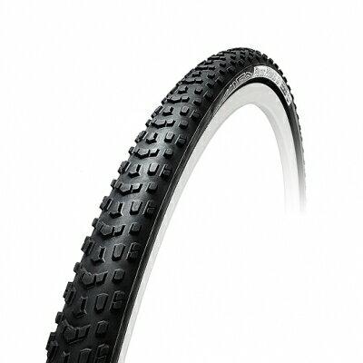 (TUFO/チューフォ)(シクロクロス用タイヤ)Flexus Cubus 33 SG (ブラック/ブラック)