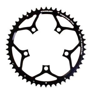 (ストロングライト/STRONGLIGHT)(自転車用チェーンリング)Z(7075) 110PCDチェーンリング (52T/ブラック) 10/11s