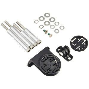 (REC-MOUNTS/レックマウント)(サイクルコンピューターマウント)Type7 Garmin コンボ マウント(M5 ステムボルト/ボルトクランプタイプ、下部アダプター付)(7-GM+GP)