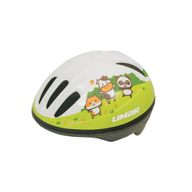 (LIMAR/リマール)子供用ヘルメット 123 ホワイト ズーニマル