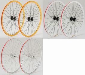 DIA-COMPE GRAN COMPE WHEEL 前後輪セット カラー:シルバー、ゴールド、ホワイト ダイアコンペ グランコンペ シングルスピード&トラック用完組ホイール ピスト