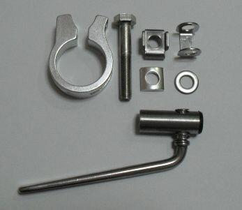 BRIDGESTONE ブリヂストン アルベルトロイヤル8 S型 AR78S4用 ステンレス製 回転式シートレバー M8x50mmボルト シートピン GK-RW32L 注文番号: 1081354 自転車 サイクリング 自転車用パーツ サイクルパーツ