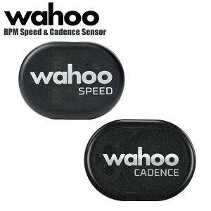 Wahoo ワフー スピード&ケイデンスセンサー RPM Speed & Cadence Sensor WFRPMC サイクリングセンサーセット