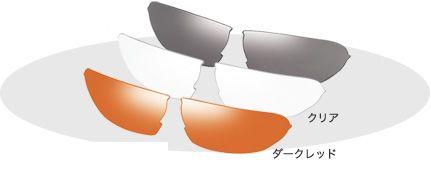 OGK スペアレンズ B-SR-04 (適応モデル:ビナート4 専用) (アイウェア 補修パーツ) OGK KABUTO オージーケー カブト Binato-4