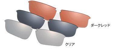 OGK スペアレンズ R-SR-01 (適応モデル:アールエックス 専用) (アイウェア 補修パーツ) OGK KABUTO オージーケー カブト RX