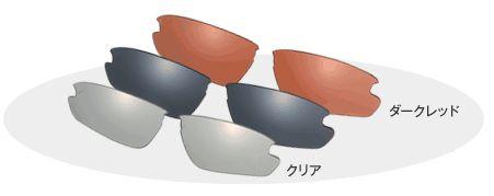 OGK スペアレンズ S-SR-01 (適応モデル:スマートフォトクロミック スマート 専用) (アイウェア 補修パーツ) OGK KABUTO オージーケー カブト SMART Photochromic SMART