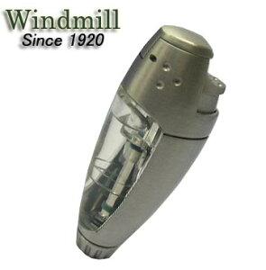 送料140円〜通常の2倍大容量ガスBEEP3(ビープ)バーナーガスライター(白ベロア)BE3-1001 ターボライターを発明したWindmill社製