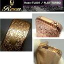 送料340円〜ROEN(ロエン)ターボライター001PG(新色 ピンクゴールド*鏡面ミラー)スカル