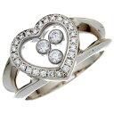 【プライスダウン】【飯能本店】 ショパール ハッピー ダイヤモンド レディース リング・指輪 82/4502/20 750ホワイト…