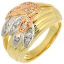 【飯能本店】 ノンブランド 0.18ct ダイヤモンド レディース リング・指輪 K18イエローゴールド 11.5号 ゴールド DH55…