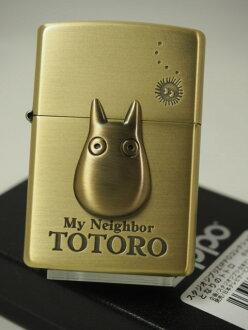 jipporaita: Zippo TOTORO小totoro《金属张力》黄铜古美《两面》吉卜力工作室动画NZ-23★可爱的★人气商品礼物礼物包
